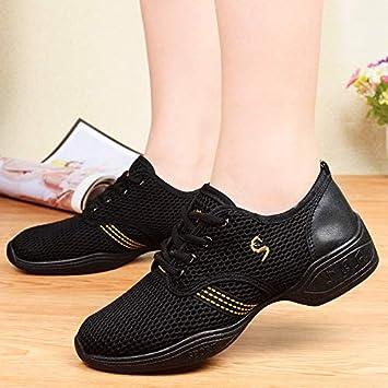 9ed441027959ca AVBGT Jazz Chaussures De Danse Chaussures De Danse Carrée Danse De Remise  en Forme Augmenter Jazz