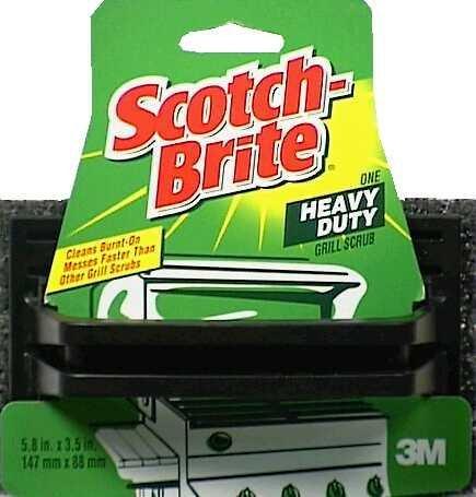 Scotch Brite 7721 Grill Scrub for Steel Racks