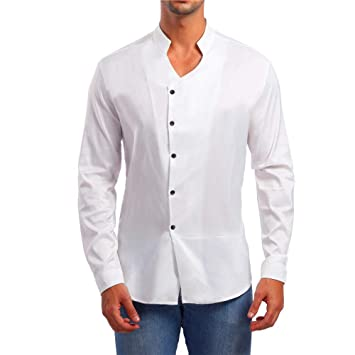 STRIR Camisas Hombre Manga Larga Slim Fit Camisas Hombre Camisas ...