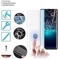 Lyperkin [1-Pack] Protector de Pantalla para Samsung Galaxy (S10 Plus / S10), Protector de Pantalla de Vidrio Templado UV de Cobertura Total [Sin Burbuja] [Anti-Scratch] Samsung S10 / S10 + 2019