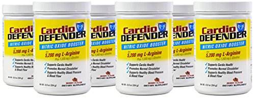 Amazon.com: Cardio Defender Nitric Oxide Booster (3): Health & Personal Care