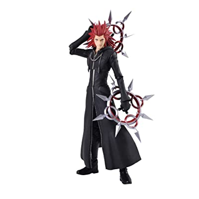 Square Enix Kingdom Hearts III Axel (Lea) Bring Arts Action Figure: Toys & Games
