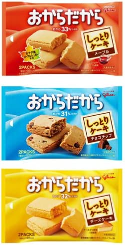 江崎グリコおからだからメープルチョコチップチーズケーキ2枚×各10個入り