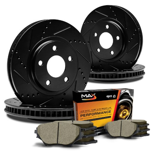 front-rear-elite-series-black-anti-rust-slotted-drilled-rotors-and-ceramic-pads-brake-kit-kt015183-f