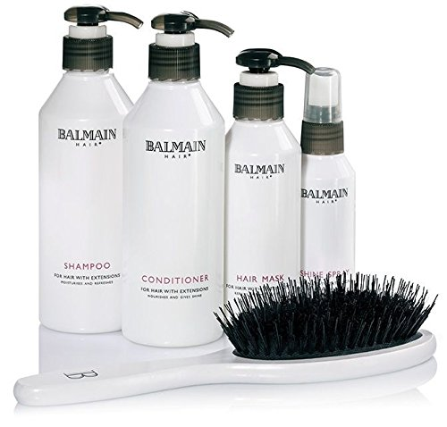 Balmain hair extensions beauty bag shampoo conditioner hair balmain hair extensions beauty bag shampoo conditioner hair mask shine spray pmusecretfo Choice Image