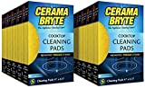 Cerama Bryte Glass-Ceramic Cooktop Cleaning Pads, 50 Count