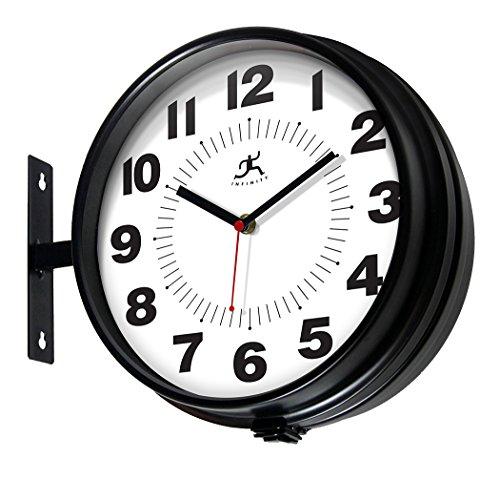 Infinity Instruments Hallway Clock, Black