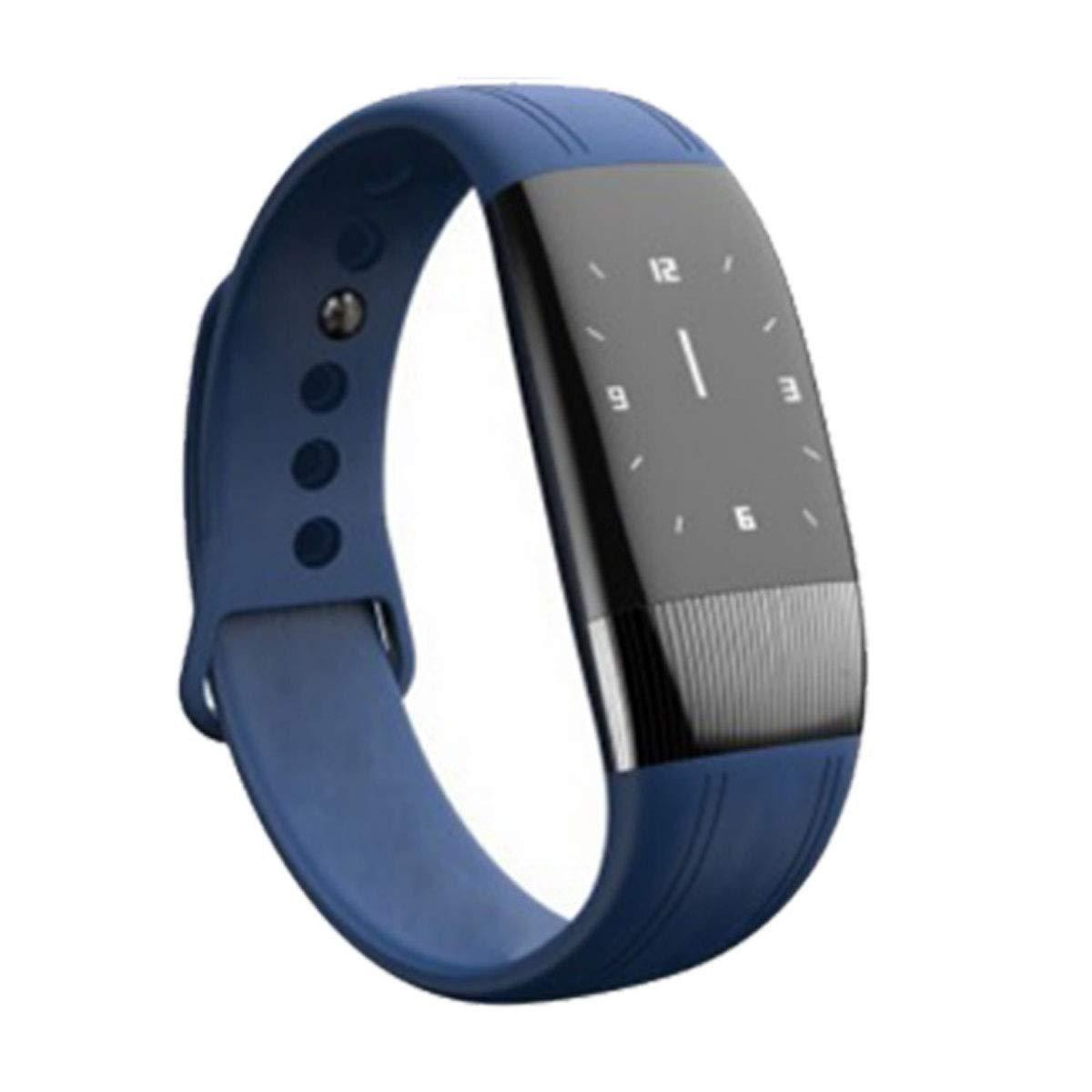 ZMJY Tracker Sport con cardiofrequenzimetro, orologi da Polso Intelligenti Impermeabili con contatore di Calorie per Le Donne & Wen per Smartphone,blu