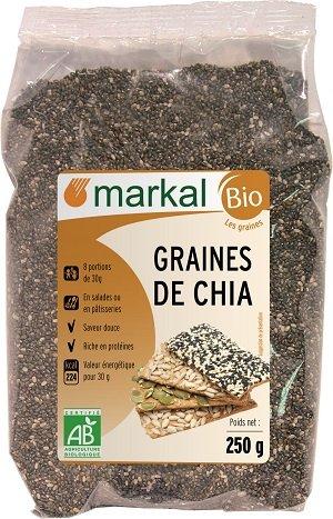Semillas de chía bio | 250g | Markal