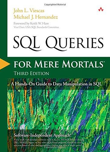 SQL Queries for Mere Mortals ISBN-13 9780321992475