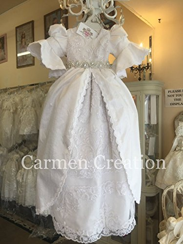 Sally Baptism Gown by Carmen Creation