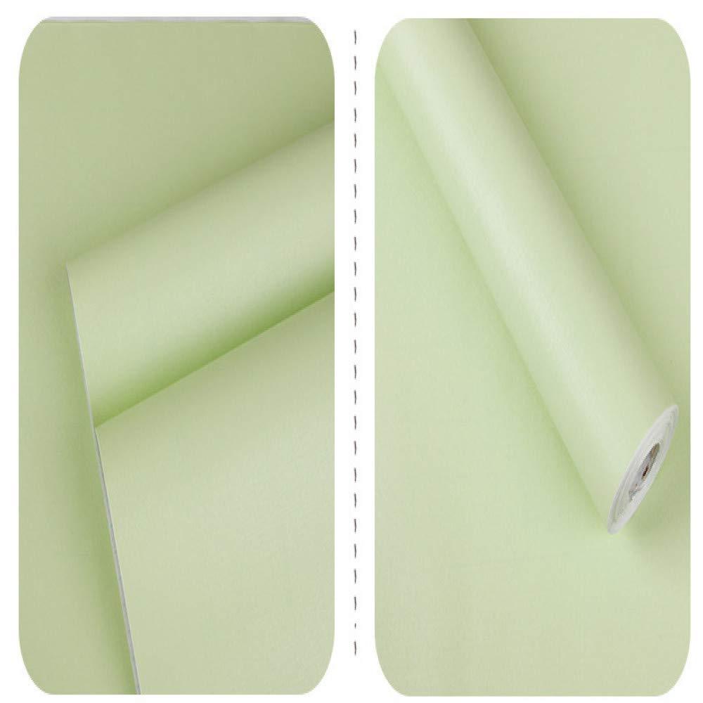 carta adesiva per mobili,Addensare carta da parati a tinta unita carta da parati dormitorio camera dei bambini pianura carta da parati Nordic adesivo da parete impermeabile verde