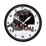 Wincraft WIN-2905812 Miami Marlins MLB Round Wall Clock