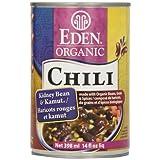 Eden Foods Organic Kidney Bean & Kamut Chili, 398 ml