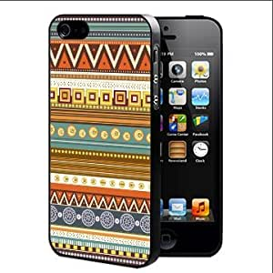 Colorful Tribal Aztec Geometric Pattern Hard Snap on Cell Phone Case Cover iPhone 4 4s