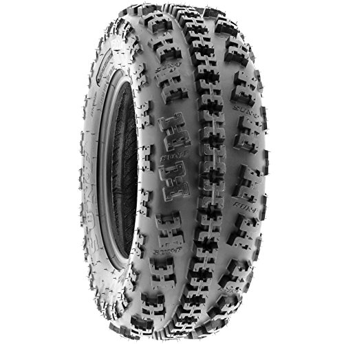 Set of 4 SunF A027 ATV Tire 22x7-10 Front & 22x10-9 Rear by SunF (Image #3)