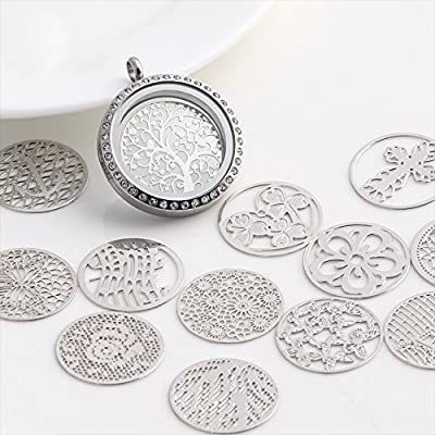 Happy Hours - 20 Pcs Stylish Floating Charm Plate Set