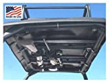 Great Day Titan Scout and Vanish E-UTV Quick-Draw Overhead Gun Rack. 35.0'' X 42.0''. Made in USA. Holds Two Guns. Day-QD8530GR