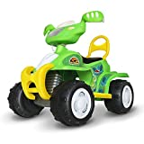 Costzon Ride On Quad, 6V Battery Powered Ride On Four Wheeler, Electric Toys for Boys and Girls 3 - 8 Year Olds (Green)
