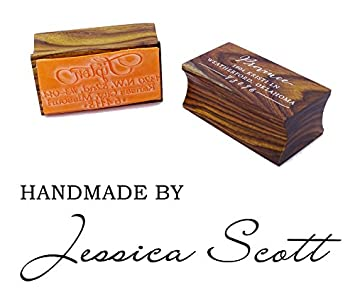 Custom Wood Mounted Rubber Stamp Personalized Handmade By Stamp Invitation Gift Printtoo
