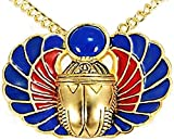 Sale - Egyptian Scarab Amulet Pin/pendant with Lapis, From Our Museum Store Collection