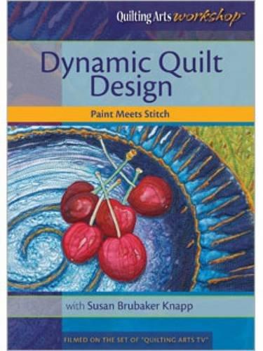 Dynamic Quilt Design Paint Meets Stitch