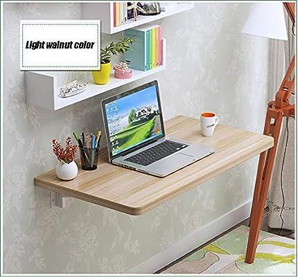 XIAOWEI Mesa Plegable Simple para el hogar Escritorio de Hoja ...