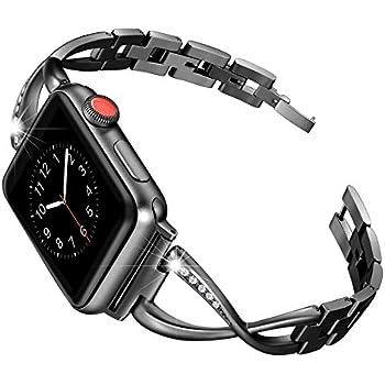 Amazon.com: Secbolt Bling Band Compatible Apple Watch Band