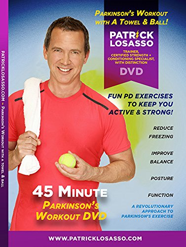 Parkinson's Workout DVD with A Towel & Ball
