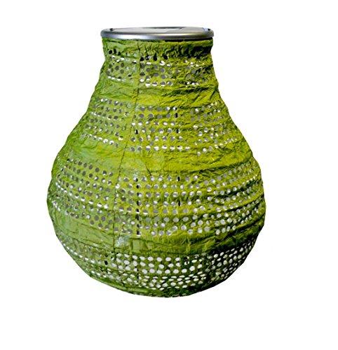 Bulb Shape Solar Lantern, Moss, 1-Count by Generic