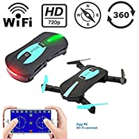 Gleemax 720p HD Mini WiFi Remote-Controlled Drone