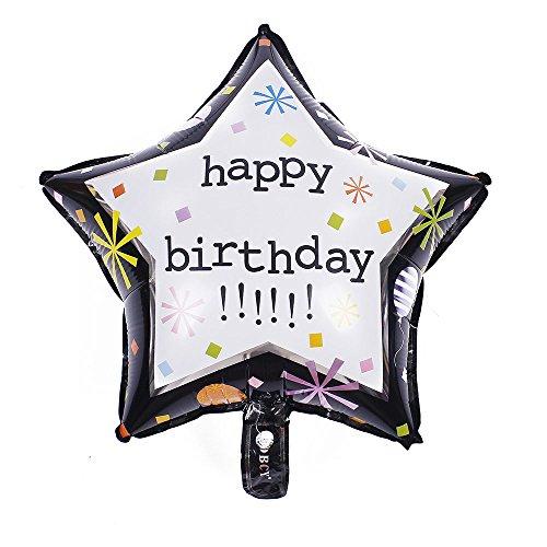 Christmas 18 Inch Mylar Balloon - ZOOYOO 20pcs/lot Happy Birthday Helium Foil Balloons,