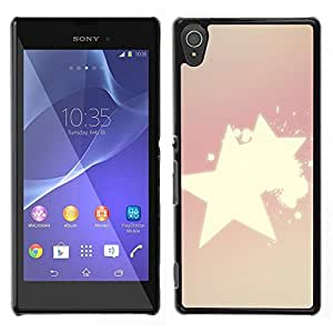 MOBMART Carcasa Funda Case Cover Armor Shell PARA Sony Xperia T3 - Radiance Of Shinning Stars