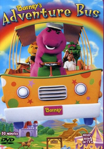 7 best barney adventure bus dvd