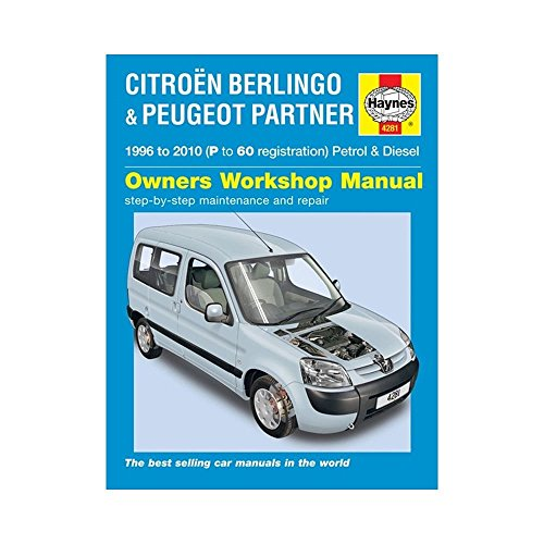 Citroen Berlingo & Peugeot Partner Petrol & Diesel: 1996 to 2010 (Service & repair manuals) by John S. Mead (12-Sep-2014) Hardcover
