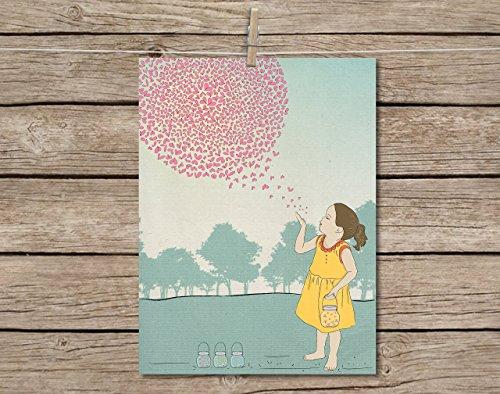firefly-nursery-decor-art-print-modern-wall-art-poster-8x10