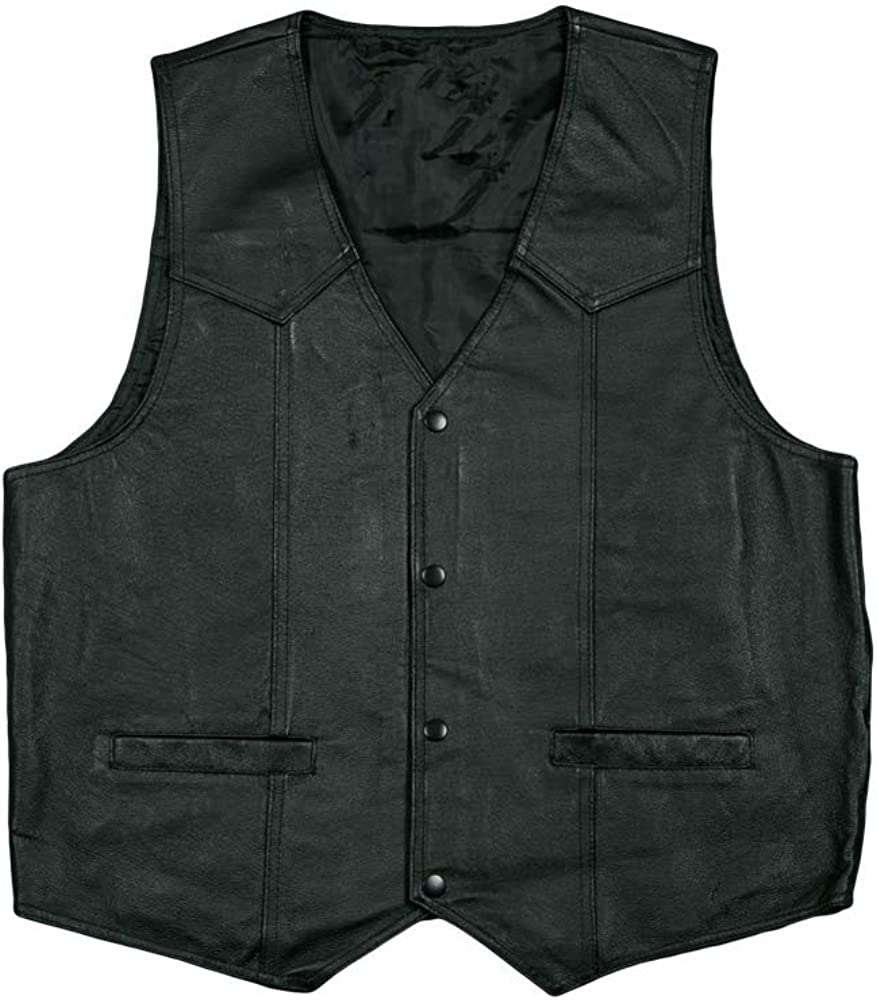 JWM U.S Marines Leather Vest