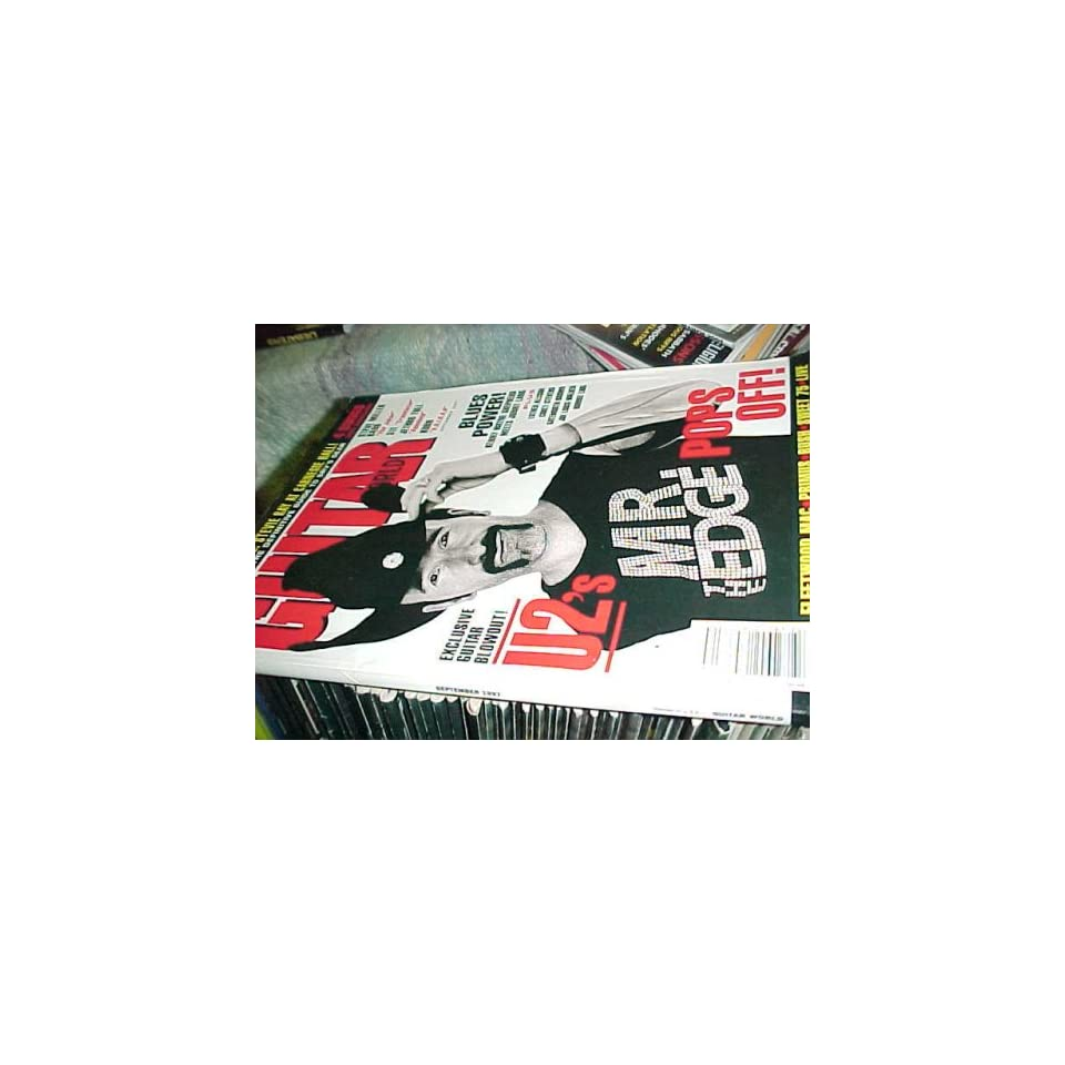 Guitar World Magazine 9 97  U2 the Edge Cover Guitar World Books