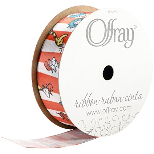 Offray Dr. Seuss Craft Ribbon