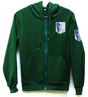 Attack on Titan Shingeki no Kyojin Scouting Legion Hoodie Sweater Coat Costume