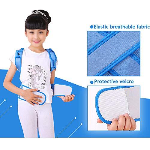MLX Anti-Humpback Correction Belt, Child Student Spine Correction to Correct Hunchback Sitting Back Straight Back Anti-Humpback Correction Belt (Size : L (Waistline:69-79cm)) by MLXBBJ (Image #3)