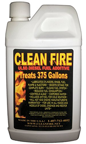 Clean Fire Diesel Fuel Additive – 1 Quart