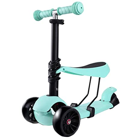 FJHH-Kick Scooters Patinete para niños de 3 Ruedas, Altura ...