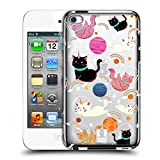 Head Case Designs Cat Space Unicorns Hard Back Case for Apple iPod Touch