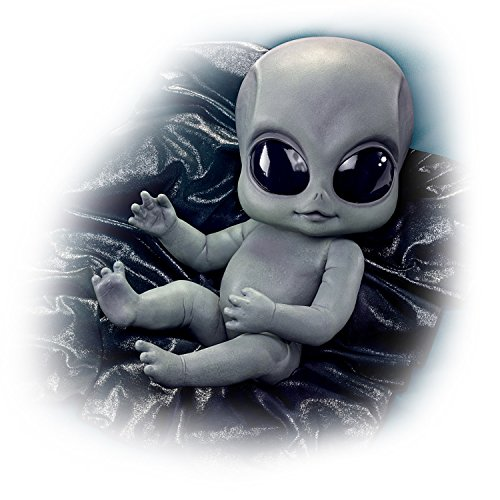 "16"" Greyson Alien Baby Doll With Poseable Arms And Legs by The Ashton-Drake Galleries from The Ashton-Drake Galleries"
