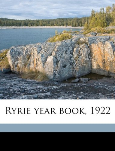 Ryrie Year Book  1922