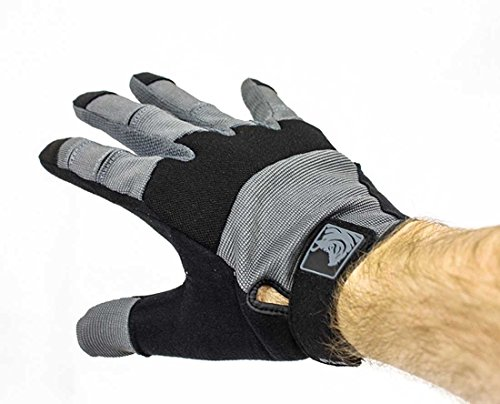 PIG Full Dexterity Tactical (FDT) Alpha Gloves - Carbon Grey - 2X-Large … by PIG (Image #2)