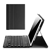 Fintie iPad mini 1/2/3 Keyboard Case - Blade X1 Ultra Slim Shell Lightweight Cover with Magnetically Detachable Wireless Bluetooth Keyboard for iPad mini 3 / iPad mini 2 / iPad mini 1, Black