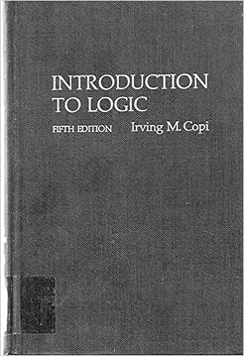 Introduction to logic irving m copi 9780023248801 amazon introduction to logic 5th edition fandeluxe Image collections