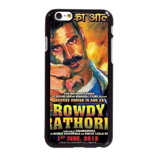 F2U11 Rowdy Rathore Haute Résolution Affiche T8H9PL coque iPhone 6 Plus de 5,5 pouces cas de couverture de téléphone portable coque noire RU8MES7PA